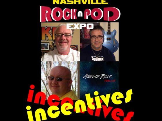 Ages of Rock Incentive Rock n Pod Expo
