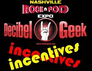 decibel geek incentives rock n pod expo