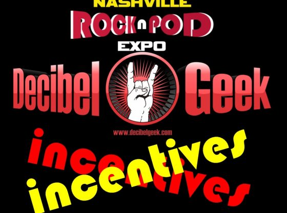 decibel geek incentives rock n pod expo