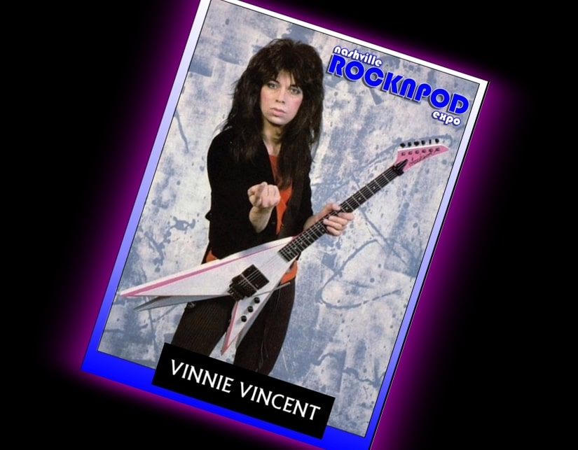 vinnie vincent nashville rock n pod expo
